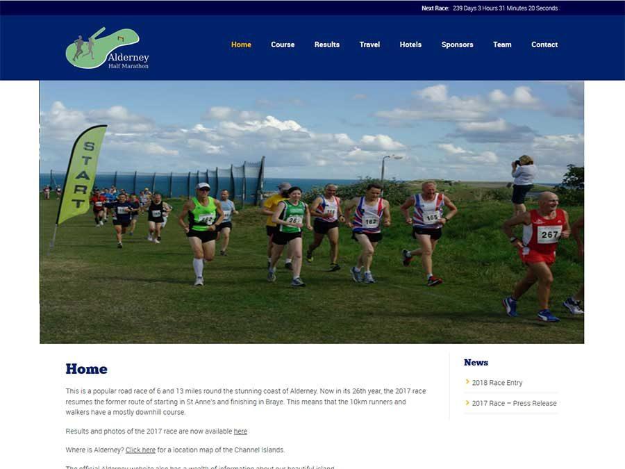 Alderney Half Marathon