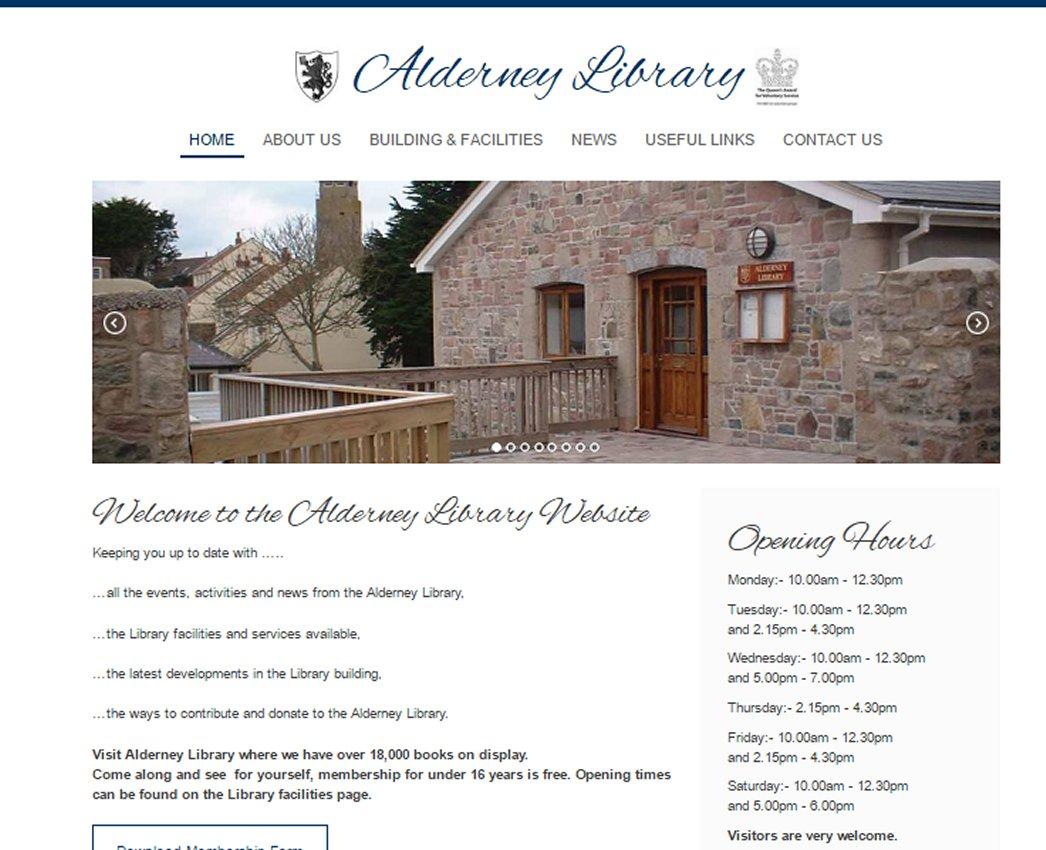 Alderneylibrary.com